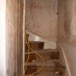 London refurbishment project - Staircase before