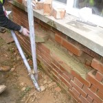 London refurbishment project - External brickwork