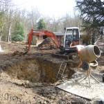 London refurbishment project - groundwork 01