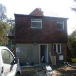 London refurbishment project - External rear
