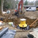 London refurbishment project - groundwork 03