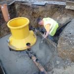 London refurbishment project - groundwork 04