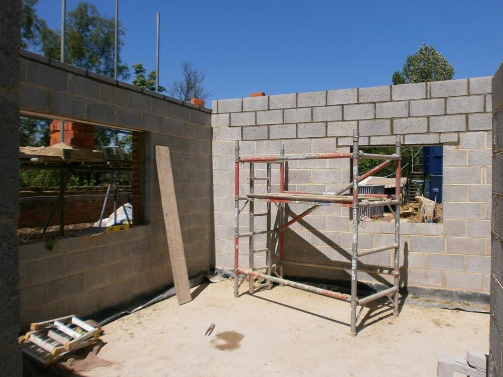 London house build 115 emc builders leicester blog for Blog builders