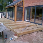 external decking preperation