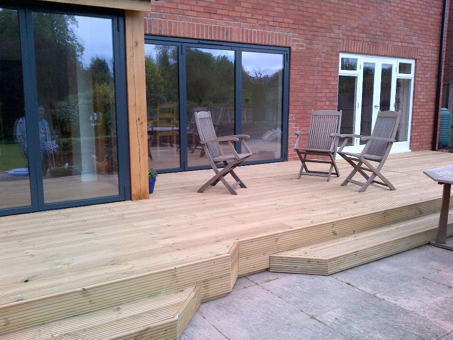 External Decking Emc Builders Leicester Blog